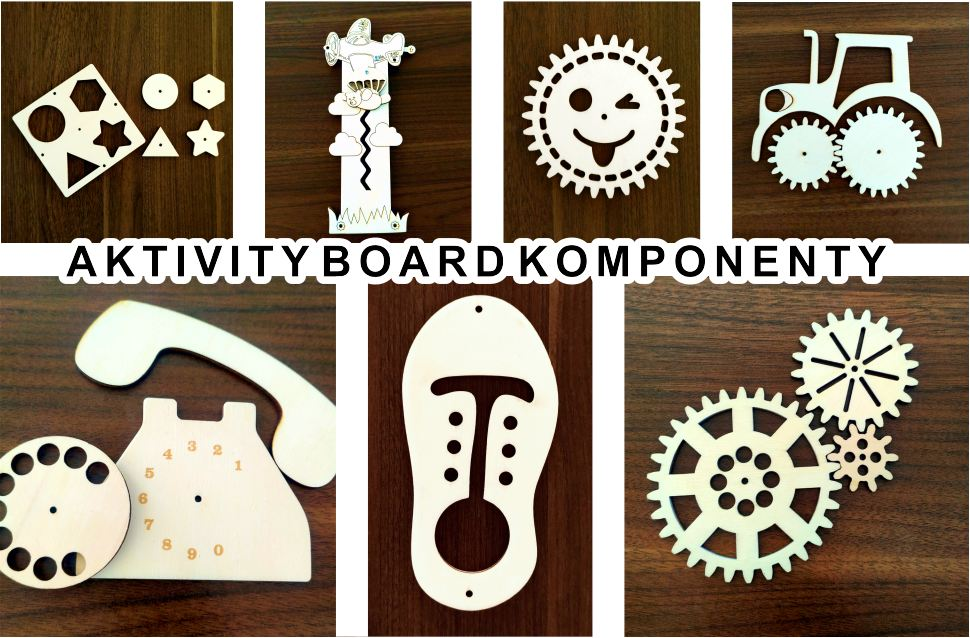 Aktivity board komponenty