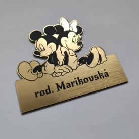 Menovka Mickey a Minie