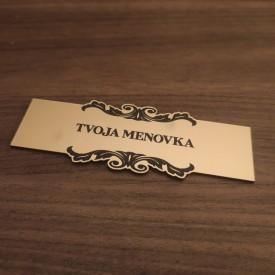 Menovka Simple Ornament