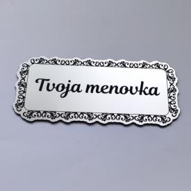 Menovka Ornament frame
