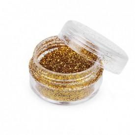 Zlaté glitre v dóze