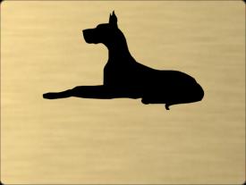 Tabuľka Nemecká doga
