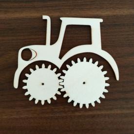Traktor s kolieskami