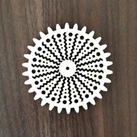 Ozubené koleso zigzag 10cm