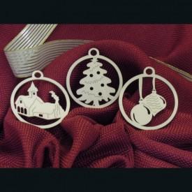 Kostolík, stromček, vianočné