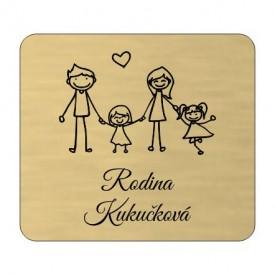 Menovka Family dve dcérky