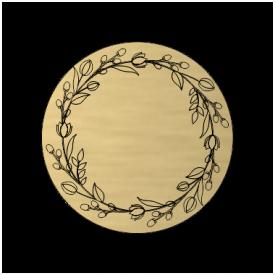 Menovka Floral Round