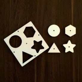 Vkladačka geometrická