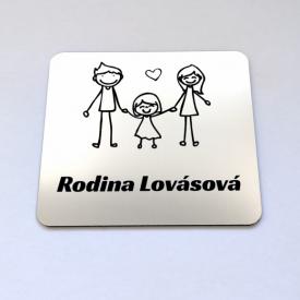 Menovka Family dcérka