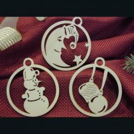 Mesičik, snehuliak, vianočné