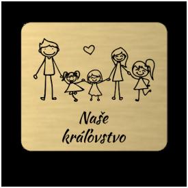 Menovka Family tri dcérky