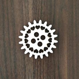 Ozubené koleso srdiečka 7cm