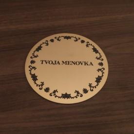 Menovka Round Ornament