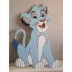 Maľovaná doska Simba 1