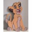 Maľovaná doska Simba 2